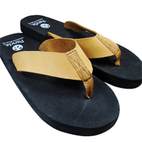 The Leather Strap Flip Flop